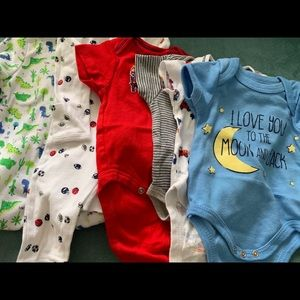 Other - Swiggles, Gerber, Carter's pajamas and onesies